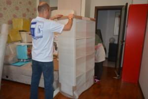Упаковка и транспортировка мебели