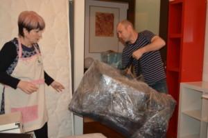 Упаковка мебели и перевозка